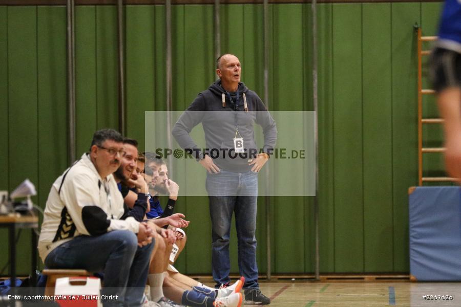 Klaus Sieß, Bezirksliga Staffel Nord, 03.11.2019, TV Gerolzhofen, TSV Karlstadt - Bild-ID: 2269626