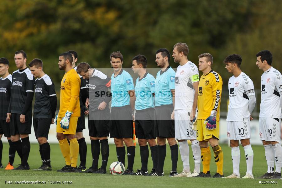 Steffen Ehwald, 09.11.2019, Bayernliga Nord, SV Seligenporten, TSV Karlburg - Bild-ID: 2269653