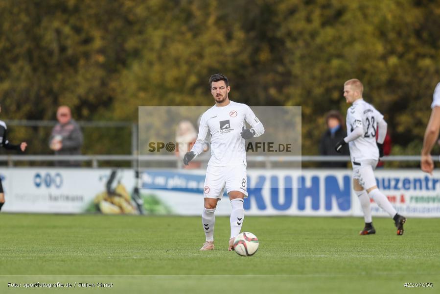 Bernd Rosinger, 09.11.2019, Bayernliga Nord, SV Seligenporten, TSV Karlburg - Bild-ID: 2269655