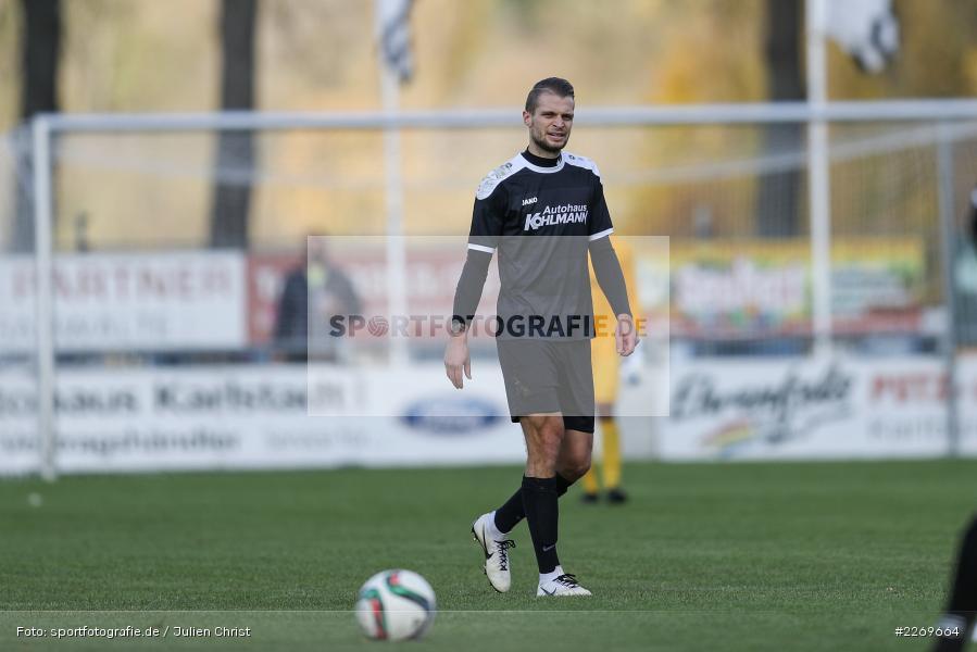 Marvin Schramm, 09.11.2019, Bayernliga Nord, SV Seligenporten, TSV Karlburg - Bild-ID: 2269664