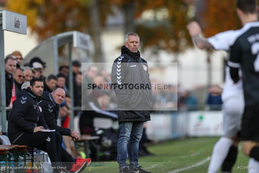 Gerd Klaus, 09.11.2019, Bayernliga Nord, SV Seligenporten, TSV Karlburg - Bild-ID: 2269670