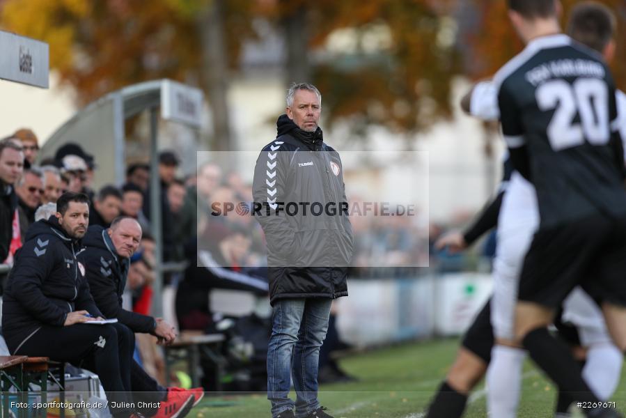 Gerd Klaus, 09.11.2019, Bayernliga Nord, SV Seligenporten, TSV Karlburg - Bild-ID: 2269671