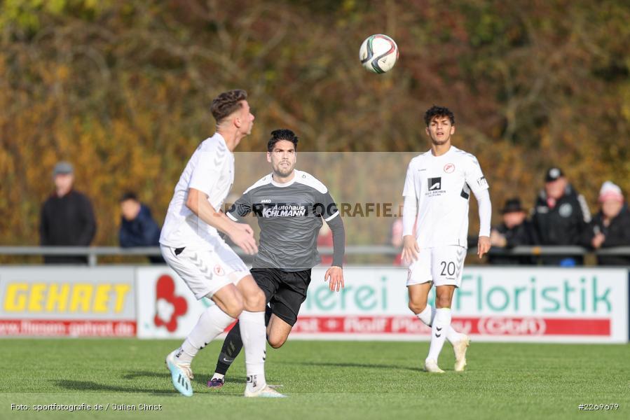 Steffen Bachmann, 09.11.2019, Bayernliga Nord, SV Seligenporten, TSV Karlburg - Bild-ID: 2269679