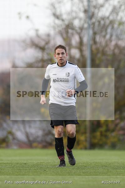 Benedikt Langhirt, 09.11.2019, Kreisliga Würzburg Gr. 2, TSV Karlburg II, FC Wiesenfeld-Halsbach - Bild-ID: 2269699