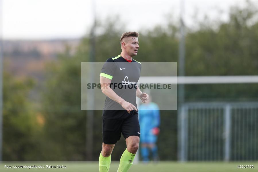 Szymon Dynia, 09.11.2019, Kreisliga Würzburg Gr. 2, TSV Karlburg II, FC Wiesenfeld-Halsbach - Bild-ID: 2269705