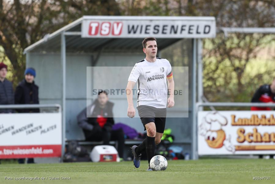 Philipp Kübert, 09.11.2019, Kreisliga Würzburg Gr. 2, TSV Karlburg II, FC Wiesenfeld-Halsbach - Bild-ID: 2269707