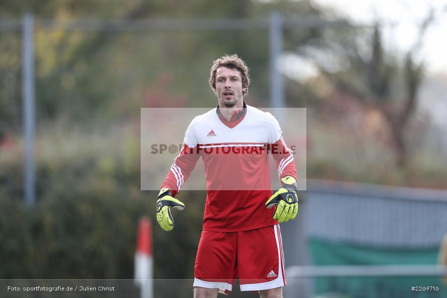 Johannes Wolpert, 09.11.2019, Kreisliga Würzburg Gr. 2, TSV Karlburg II, FC Wiesenfeld-Halsbach - Bild-ID: 2269716