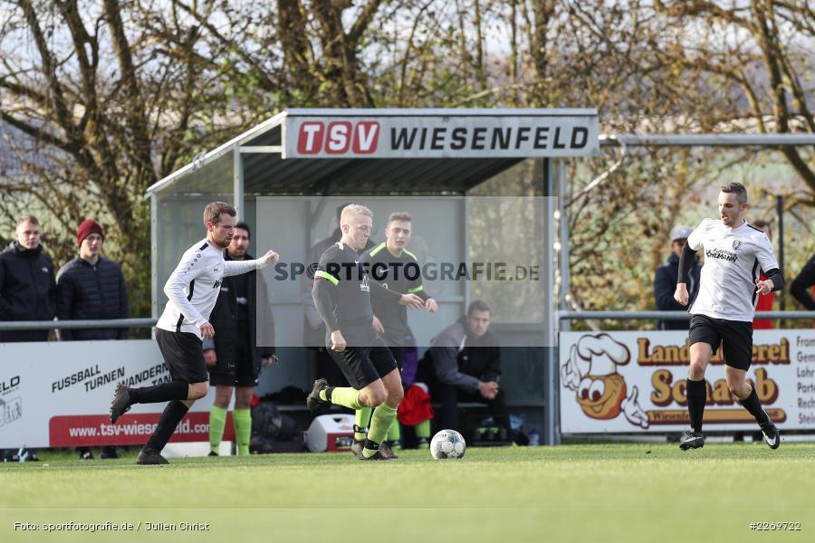 Tobias Winheim, 09.11.2019, Kreisliga Würzburg Gr. 2, TSV Karlburg II, FC Wiesenfeld-Halsbach - Bild-ID: 2269722