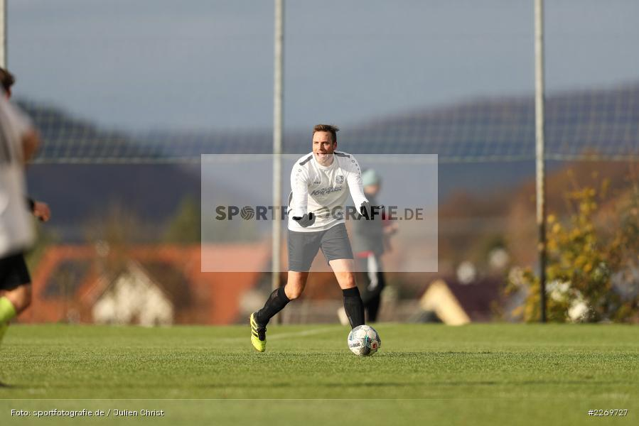 Patrick Plawky, 09.11.2019, Kreisliga Würzburg Gr. 2, TSV Karlburg II, FC Wiesenfeld-Halsbach - Bild-ID: 2269727