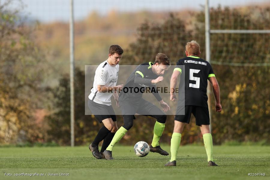 Luis Kohlmann, Marco Mehling, 09.11.2019, Kreisliga Würzburg Gr. 2, TSV Karlburg II, FC Wiesenfeld-Halsbach - Bild-ID: 2269740