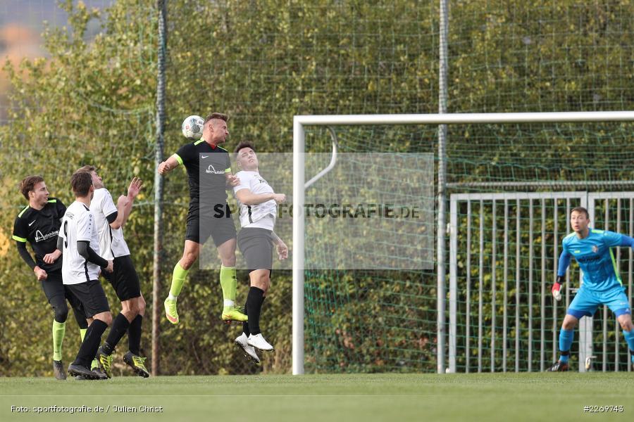 Szymon Dynia, Michael Wolff, 09.11.2019, Kreisliga Würzburg Gr. 2, TSV Karlburg II, FC Wiesenfeld-Halsbach - Bild-ID: 2269743