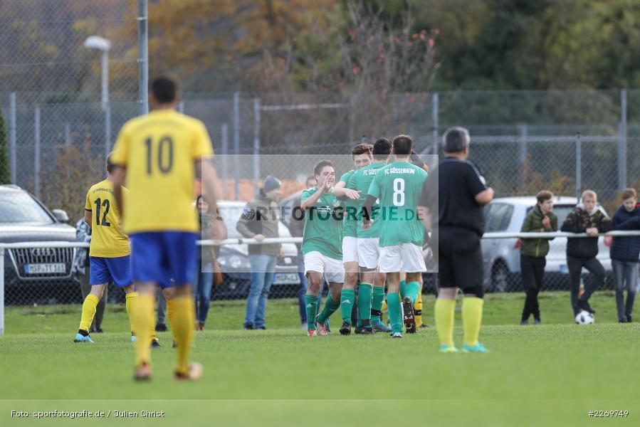 Kilian Wehner, Kreisklasse Würzburg Gr. 3, 09.11.2019, SV Sendelbach-Steinbach, FC Gössenheim - Bild-ID: 2269749