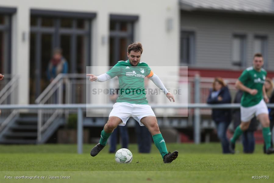 Julian Försch, Kreisklasse Würzburg Gr. 3, 09.11.2019, SV Sendelbach-Steinbach, FC Gössenheim - Bild-ID: 2269752