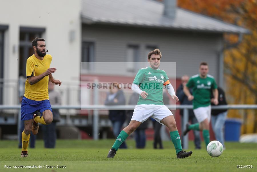 Julian Försch, Kreisklasse Würzburg Gr. 3, 09.11.2019, SV Sendelbach-Steinbach, FC Gössenheim - Bild-ID: 2269753