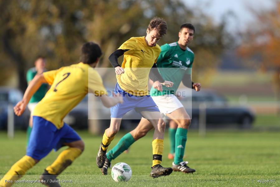 Alexander Nadler, Kreisklasse Würzburg Gr. 3, 09.11.2019, SV Sendelbach-Steinbach, FC Gössenheim - Bild-ID: 2269757