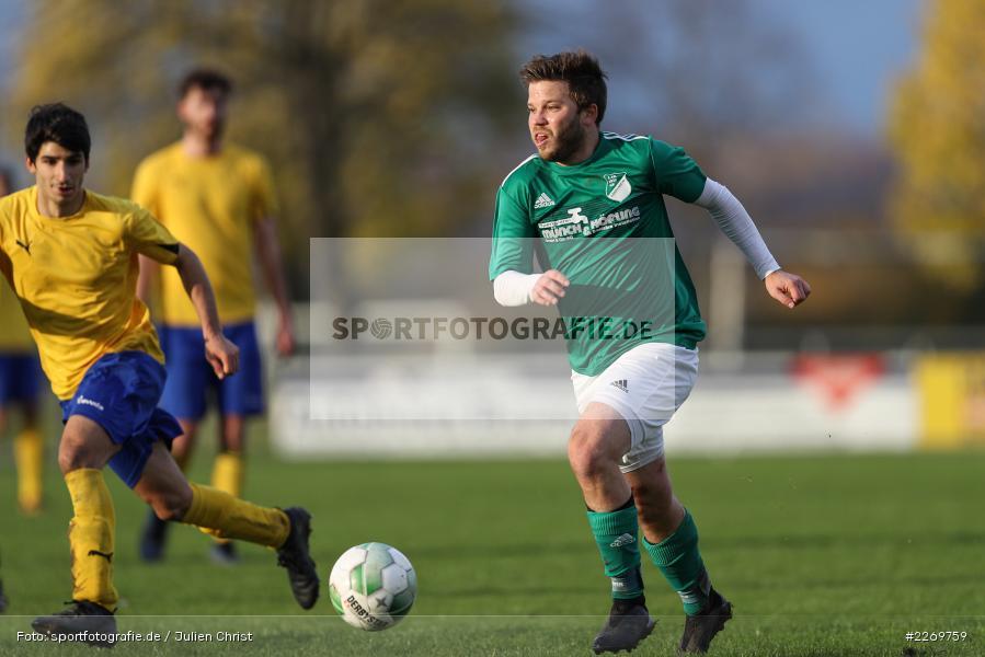 Philipp Göbel, Kreisklasse Würzburg Gr. 3, 09.11.2019, SV Sendelbach-Steinbach, FC Gössenheim - Bild-ID: 2269759