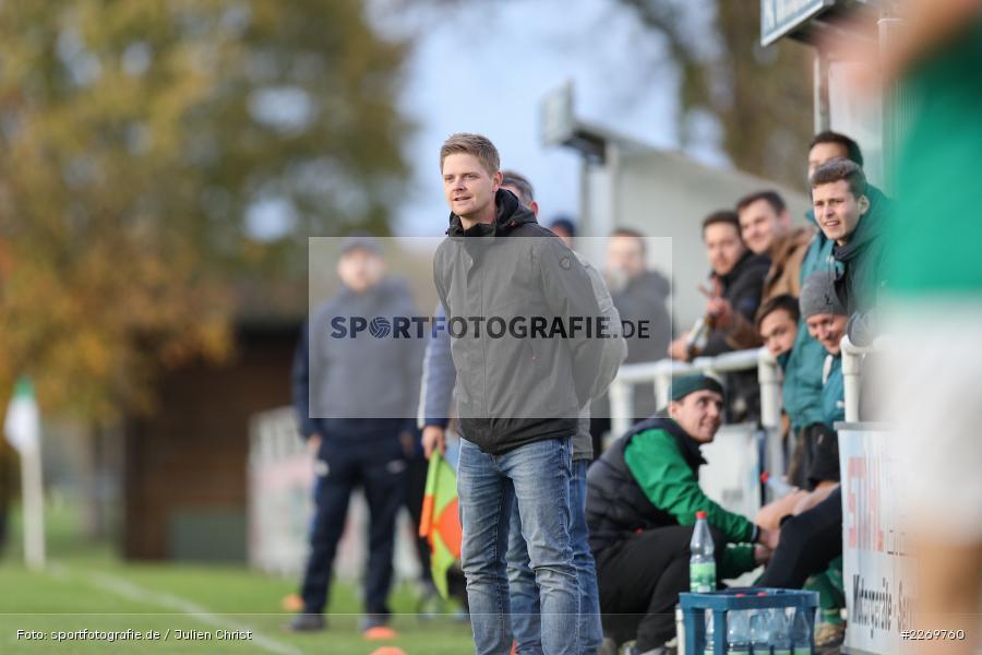 Michael Worbis, Kreisklasse Würzburg Gr. 3, 09.11.2019, SV Sendelbach-Steinbach, FC Gössenheim - Bild-ID: 2269760