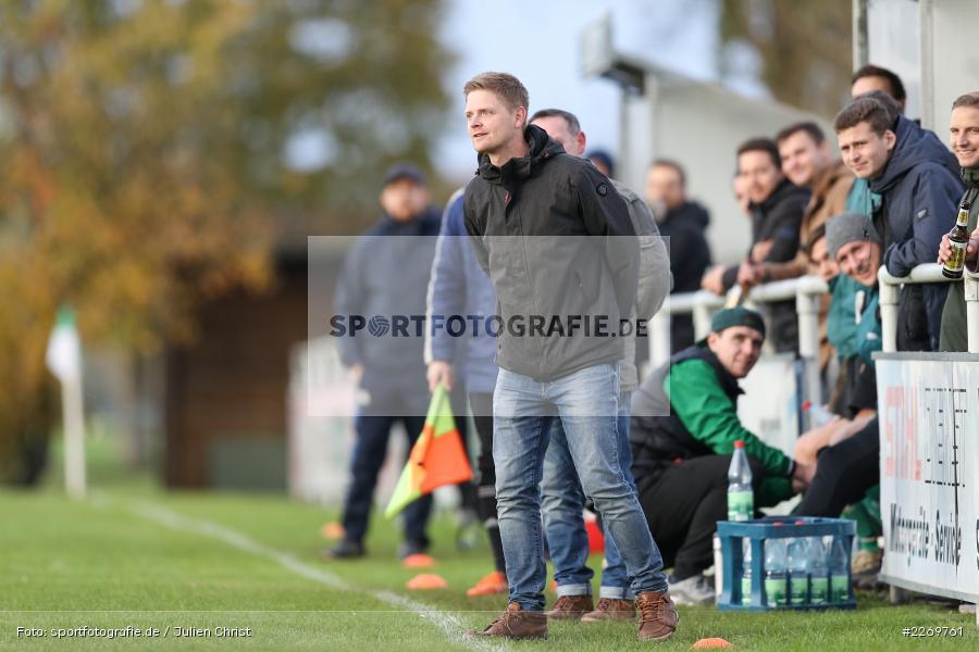 Michael Worbis, Kreisklasse Würzburg Gr. 3, 09.11.2019, SV Sendelbach-Steinbach, FC Gössenheim - Bild-ID: 2269761
