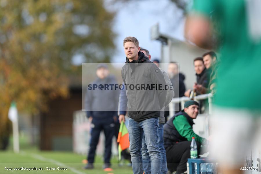 Michael Worbis, Kreisklasse Würzburg Gr. 3, 09.11.2019, SV Sendelbach-Steinbach, FC Gössenheim - Bild-ID: 2269763