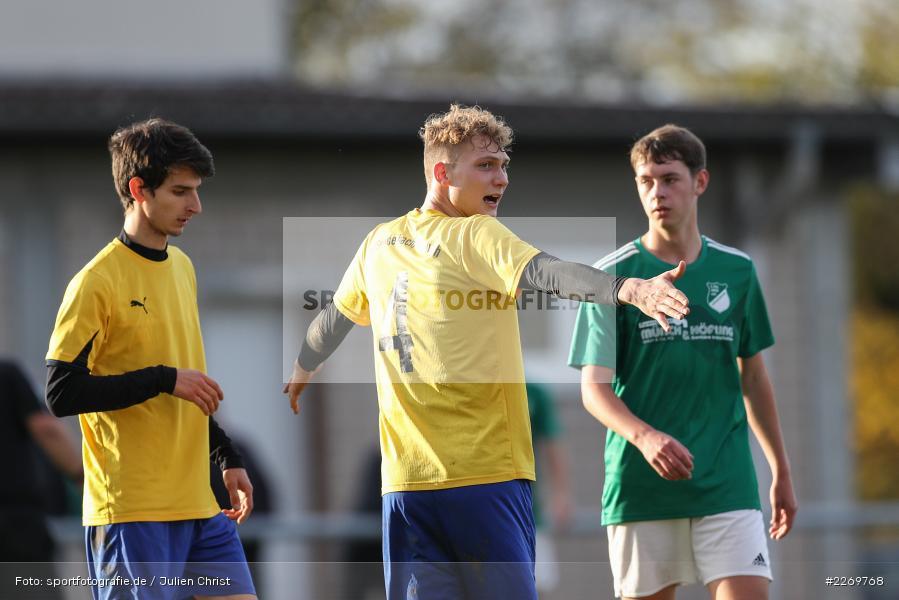 Lars Stegerwald, Kreisklasse Würzburg Gr. 3, 09.11.2019, SV Sendelbach-Steinbach, FC Gössenheim - Bild-ID: 2269768