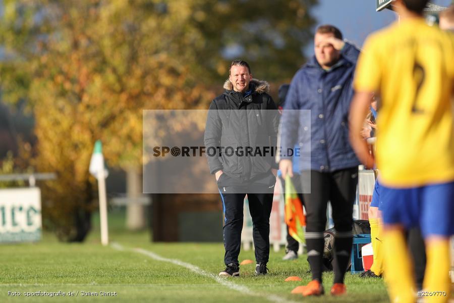 Maic Wientjes, Kreisklasse Würzburg Gr. 3, 09.11.2019, SV Sendelbach-Steinbach, FC Gössenheim - Bild-ID: 2269770