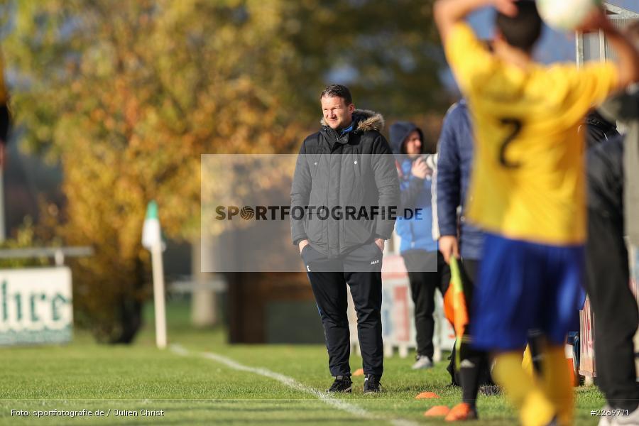 Maic Wientjes, Kreisklasse Würzburg Gr. 3, 09.11.2019, SV Sendelbach-Steinbach, FC Gössenheim - Bild-ID: 2269771