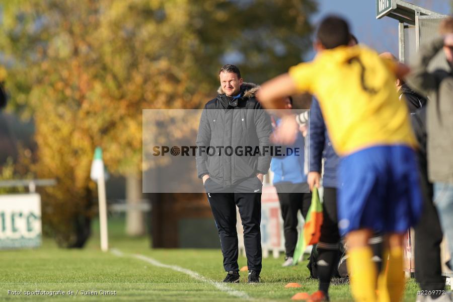 Maic Wientjes, Kreisklasse Würzburg Gr. 3, 09.11.2019, SV Sendelbach-Steinbach, FC Gössenheim - Bild-ID: 2269772