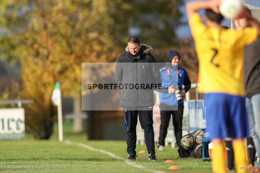 Maic Wientjes, Kreisklasse Würzburg Gr. 3, 09.11.2019, SV Sendelbach-Steinbach, FC Gössenheim - Bild-ID: 2269773