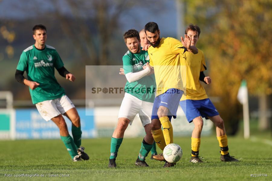 Tayfun Göbek, Philipp Göbel, Kreisklasse Würzburg Gr. 3, 09.11.2019, SV Sendelbach-Steinbach, FC Gössenheim - Bild-ID: 2269774