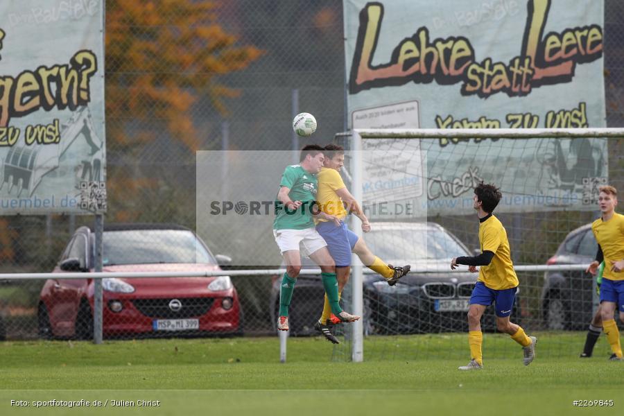 Luca Schmitt, Kreisklasse Würzburg Gr. 3, 09.11.2019, SV Sendelbach-Steinbach, FC Gössenheim - Bild-ID: 2269845