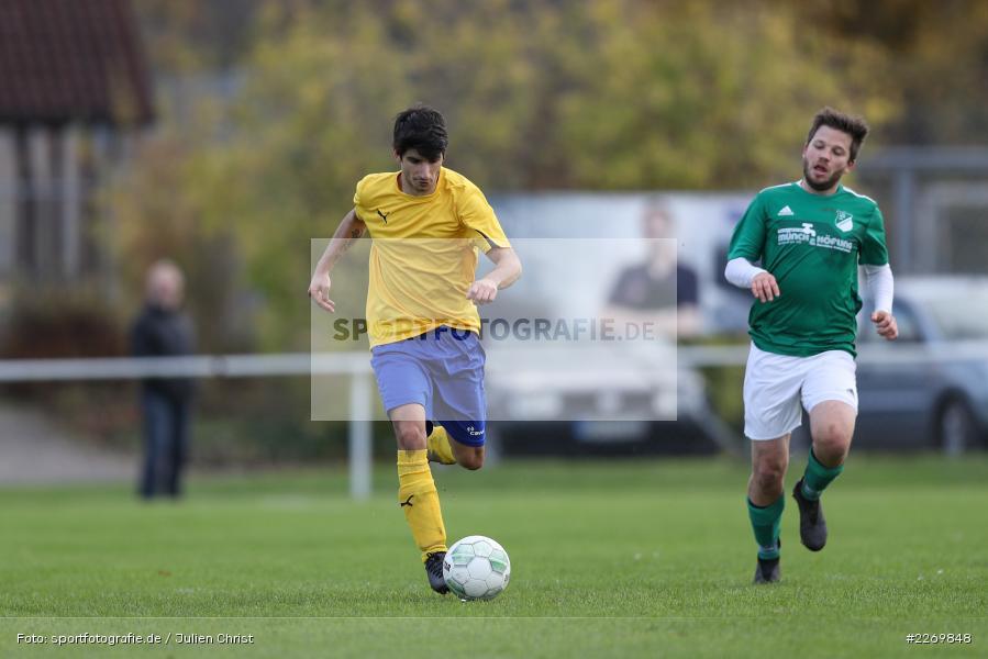 Christian Guzzanti, Philipp Göbel, Kreisklasse Würzburg Gr. 3, 09.11.2019, SV Sendelbach-Steinbach, FC Gössenheim - Bild-ID: 2269848