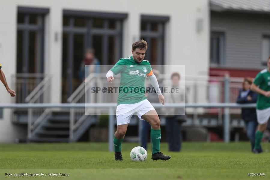 Julian Försch, Kreisklasse Würzburg Gr. 3, 09.11.2019, SV Sendelbach-Steinbach, FC Gössenheim - Bild-ID: 2269849