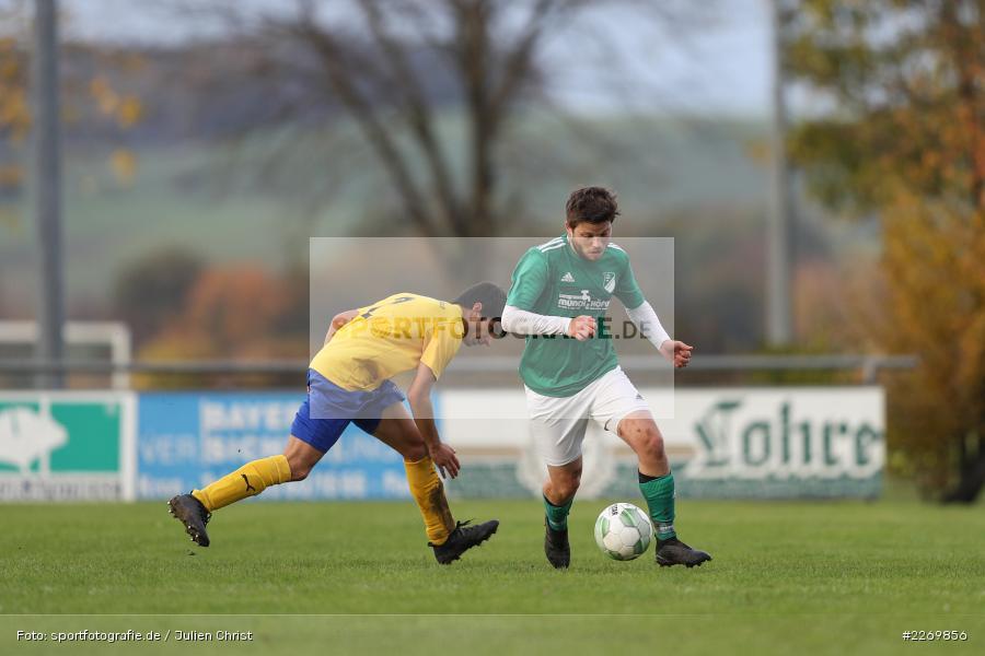 Christian Guzzanti, Philipp Göbel, Kreisklasse Würzburg Gr. 3, 09.11.2019, SV Sendelbach-Steinbach, FC Gössenheim - Bild-ID: 2269856