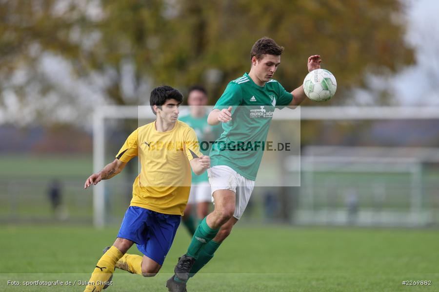 Christian Guzzanti, Kilian Wehner, Kreisklasse Würzburg Gr. 3, 09.11.2019, SV Sendelbach-Steinbach, FC Gössenheim - Bild-ID: 2269882