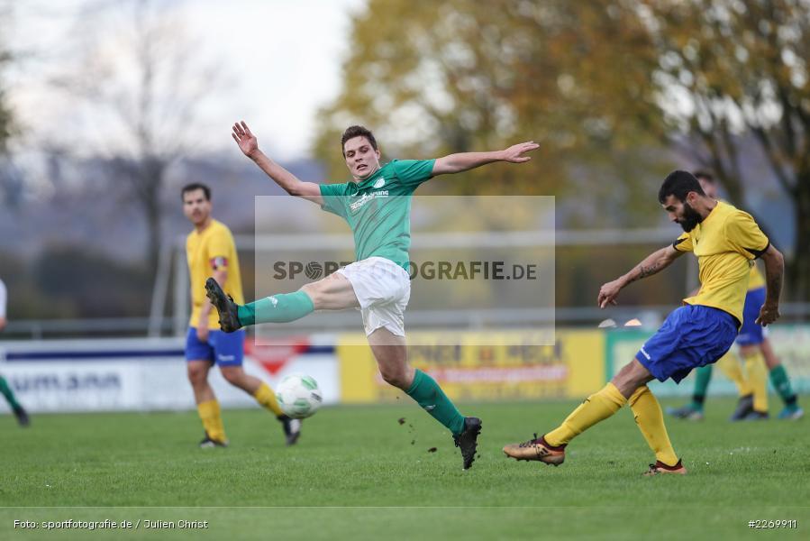 Kilian Wehner, Kreisklasse Würzburg Gr. 3, 09.11.2019, SV Sendelbach-Steinbach, FC Gössenheim - Bild-ID: 2269911