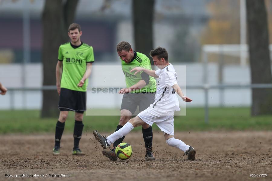 Leonard Ehrenfels, Yannic Treuttlein, 10.11.2019, A-Klasse Würzburg Gr. 6, DJK Reuchelheim/SV Heumgrumbach, TSV Karlburg III - Bild-ID: 2269929