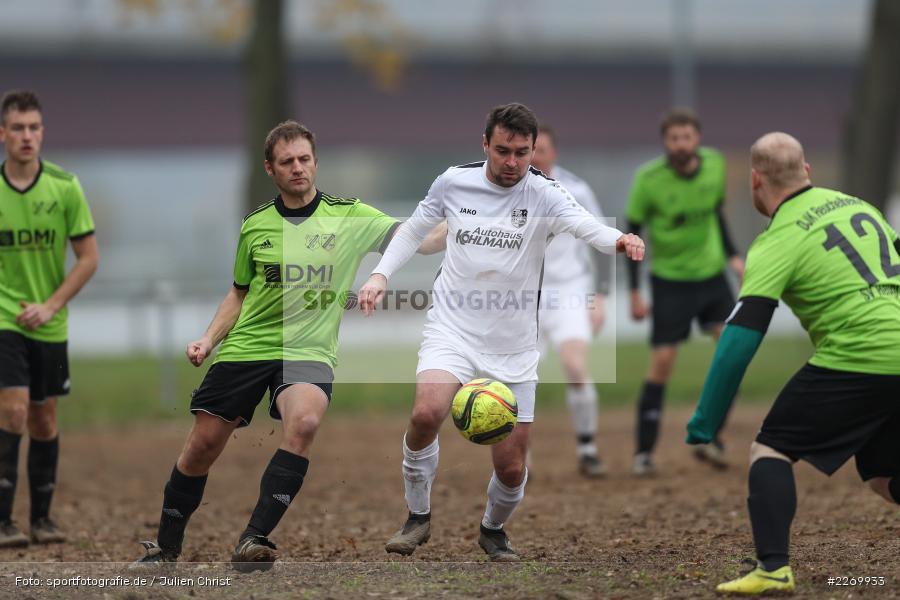 Florian Bausewein, Stefan Schmitt, 10.11.2019, A-Klasse Würzburg Gr. 6, DJK Reuchelheim/SV Heumgrumbach, TSV Karlburg III - Bild-ID: 2269933
