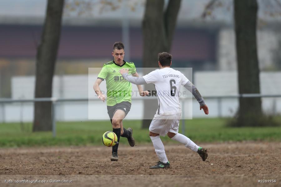 Simon Müller, Gabriel Nunn, 10.11.2019, A-Klasse Würzburg Gr. 6, DJK Reuchelheim/SV Heumgrumbach, TSV Karlburg III - Bild-ID: 2269934