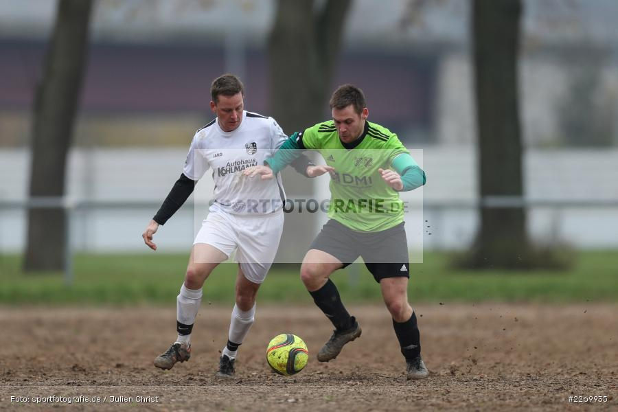 Michael Megner, Michael Schmitt, 10.11.2019, A-Klasse Würzburg Gr. 6, DJK Reuchelheim/SV Heumgrumbach, TSV Karlburg III - Bild-ID: 2269935