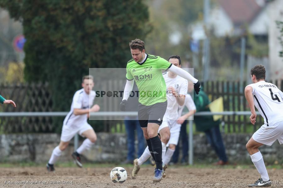 Bastian Hain, 10.11.2019, A-Klasse Würzburg Gr. 6, DJK Reuchelheim/SV Heumgrumbach, TSV Karlburg III - Bild-ID: 2269941