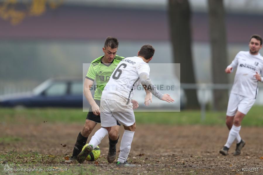 Simon Müller, Gabriel Nunn, 10.11.2019, A-Klasse Würzburg Gr. 6, DJK Reuchelheim/SV Heumgrumbach, TSV Karlburg III - Bild-ID: 2269953