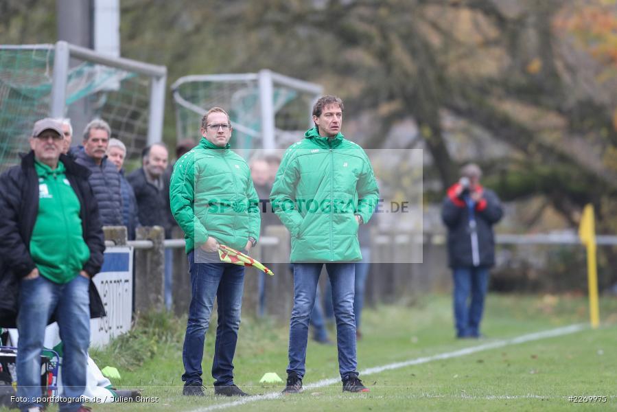 Jens Fischer, Christopher Keller, Kreisliga Würzburg Gr. 2, 10.11.2019, FV Steinfeld/Hausen-Rohrbach, FV Karlstadt - Bild-ID: 2269975