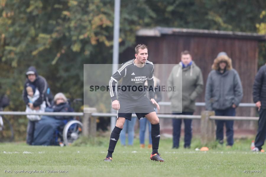Philipp Hölzer, Kreisliga Würzburg Gr. 2, 10.11.2019, FV Steinfeld/Hausen-Rohrbach, FV Karlstadt - Bild-ID: 2269986
