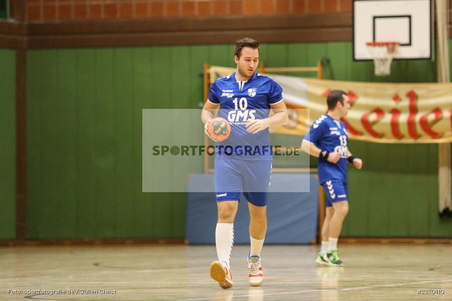 Andreas Obert, Erwin-Ammann-Halle, Bezirksliga Staffel Nord, 16.11.2019, TV Königsberg, TSV Karlstadt - Bild-ID: 2270110