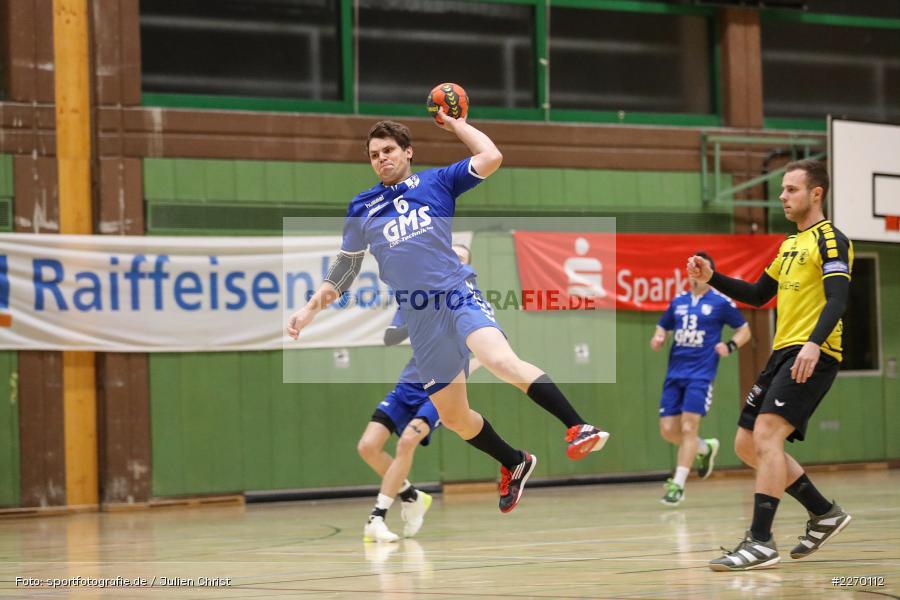 Sebastian Heun, Erwin-Ammann-Halle, Bezirksliga Staffel Nord, 16.11.2019, TV Königsberg, TSV Karlstadt - Bild-ID: 2270112