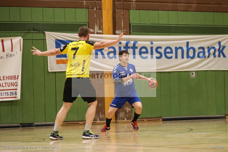 Sebastian Heun, Erwin-Ammann-Halle, Bezirksliga Staffel Nord, 16.11.2019, TV Königsberg, TSV Karlstadt - Bild-ID: 2270114