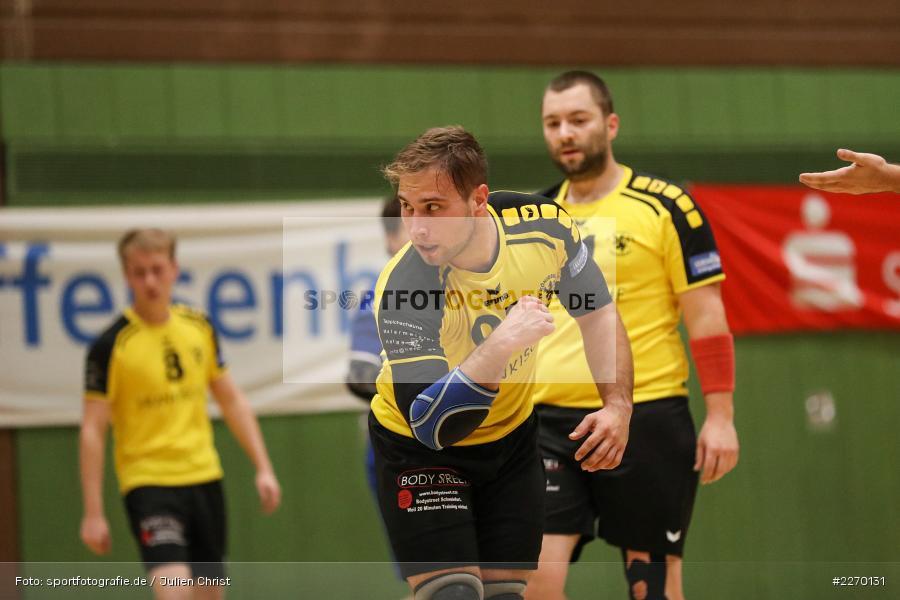 Felix Käb, Erwin-Ammann-Halle, Bezirksliga Staffel Nord, 16.11.2019, TV Königsberg, TSV Karlstadt - Bild-ID: 2270131