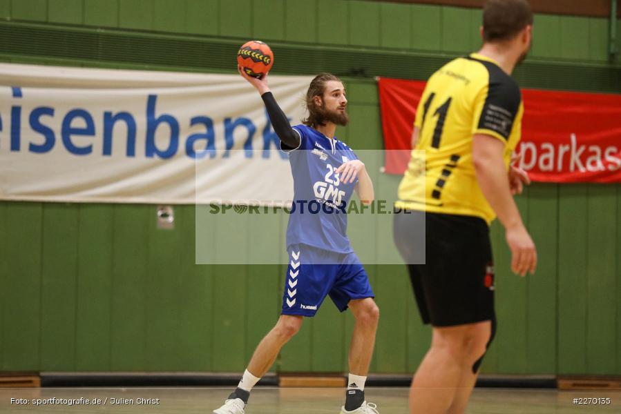 Moritz Rösner, Erwin-Ammann-Halle, Bezirksliga Staffel Nord, 16.11.2019, TV Königsberg, TSV Karlstadt - Bild-ID: 2270135