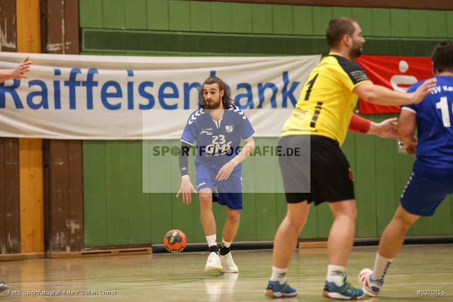 Moritz Rösner, Erwin-Ammann-Halle, Bezirksliga Staffel Nord, 16.11.2019, TV Königsberg, TSV Karlstadt - Bild-ID: 2270136