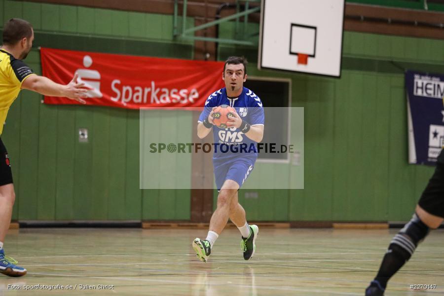 Felix Fuchs, Erwin-Ammann-Halle, Bezirksliga Staffel Nord, 16.11.2019, TV Königsberg, TSV Karlstadt - Bild-ID: 2270147